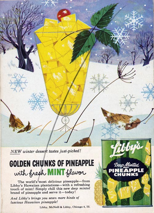 Libby's Pineapple | Commercial Works | Charley Harper Prints | For Sale