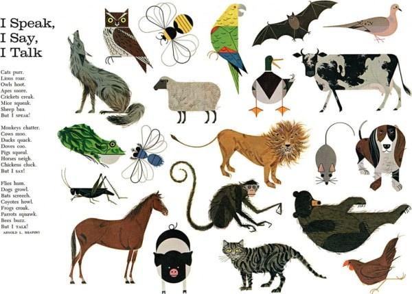 Animal Mosaic   Charley Harper Prints   For Sale