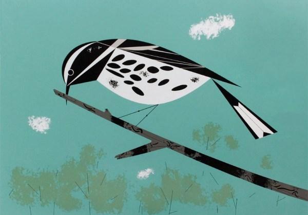 Warbler   Charley Harper Prints   For Sale