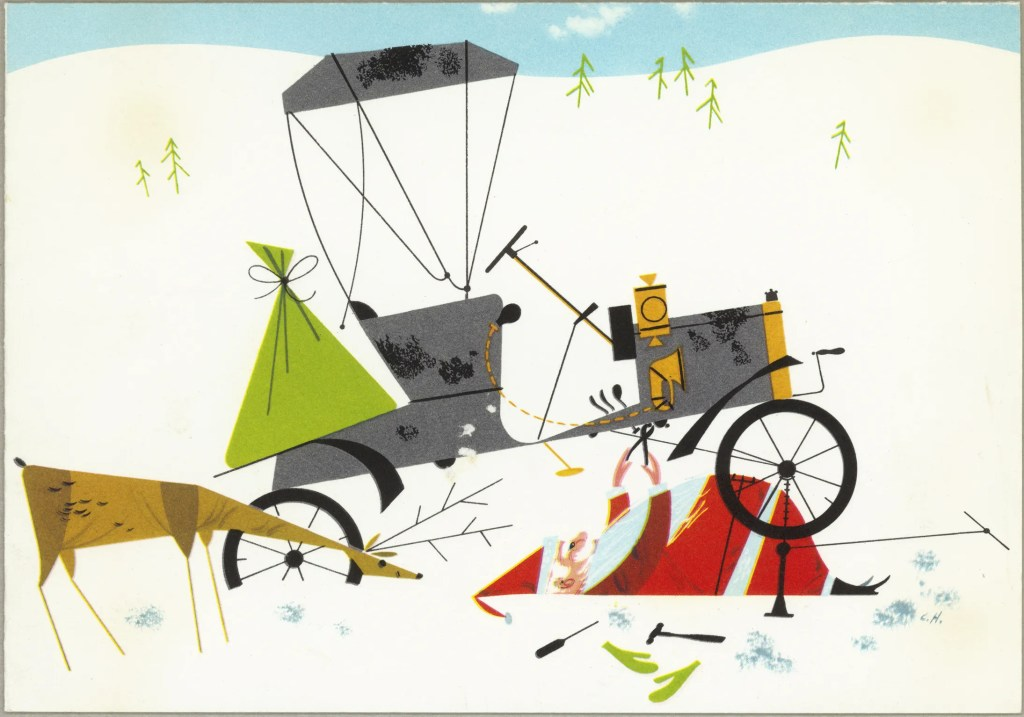 Unscheduled Stop | Charley Harper Prints | For Sale