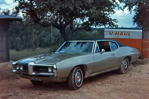 The 68 Pontiac-LeMans was also bought new an was my sportiest car!