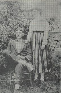 Wesley & Mamie Parnell, 1915, Near Warren, Arkansas, Grand Uncle & Aunt, wes-Mamie-Parnells-1915.jpg