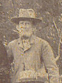 George Washington Doggett Choctaw County, Alabama, circa 1900, This is a cropped out section of the group photo at left. He was identified by Jayne Spears. I am not positive he looks like the GWD in family photo at right George Washington Doggett-Outtake.jpg