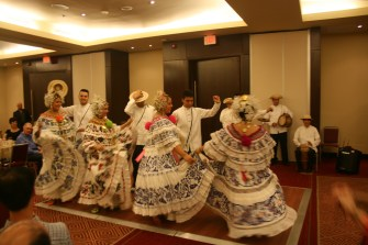 Traditional Colonial Dancers