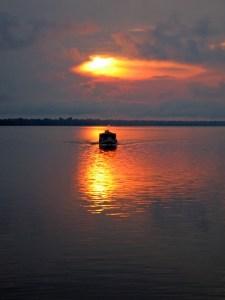 In Pericatuba, Amazonas, Brazil, August 19, 2006.