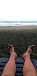 Watching the Atlantic Ocean