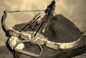 A hunter's crossbow. Will it be legal for all hunters in 2014.