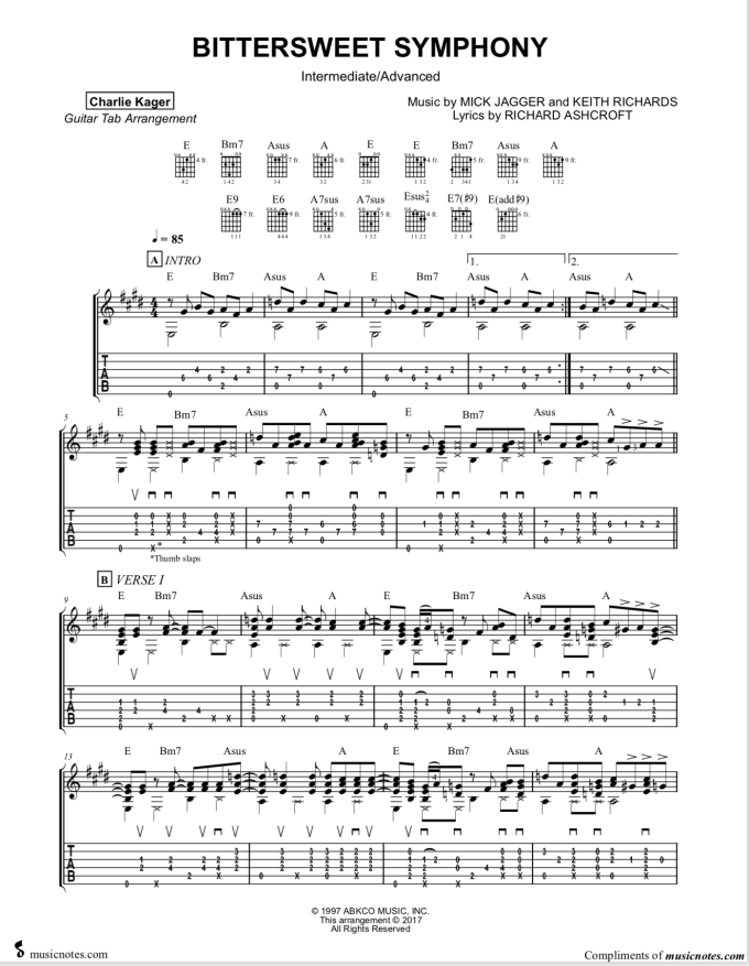 Free Tab Previews Fingerstyle Guitar Sheet Music Tabs Score