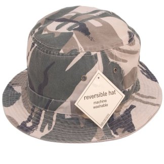 reversible camo bush hat