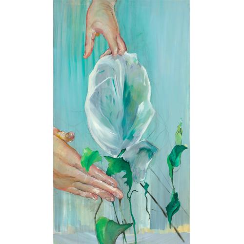 Kunst in de Kijker: 'Wrapped flower' van Stéphanie Leblon