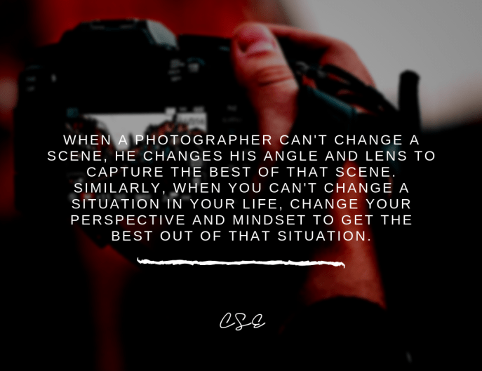 Photo of a man holding a camera. Music, Quotes & Coffee