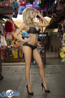 Charlotte McKinney - For BroBible - 07