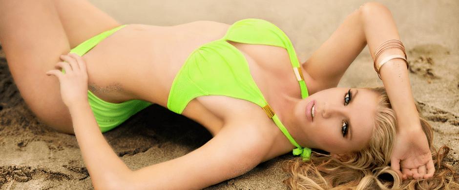 Charlotte McKinney - For Oh La La Cheri swimwear 2014 - 01