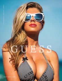 Charlotte McKinney - Megane Claire for Guess - 01