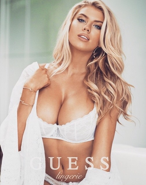 Charlotte McKinney - Megane Claire for Guess - 12