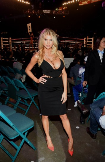 Charlotte McKinney at the Floyd Mayweather vs. Manny Pacquiao Fight - 04