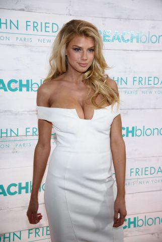 Charlotte McKinney - John Frieda Hair Care Beach Blonde Collection Party - 07