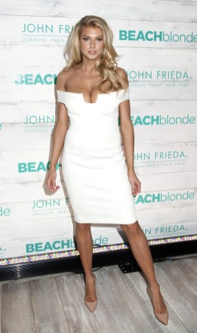 Charlotte McKinney - John Frieda Hair Care Beach Blonde Collection Party - 09
