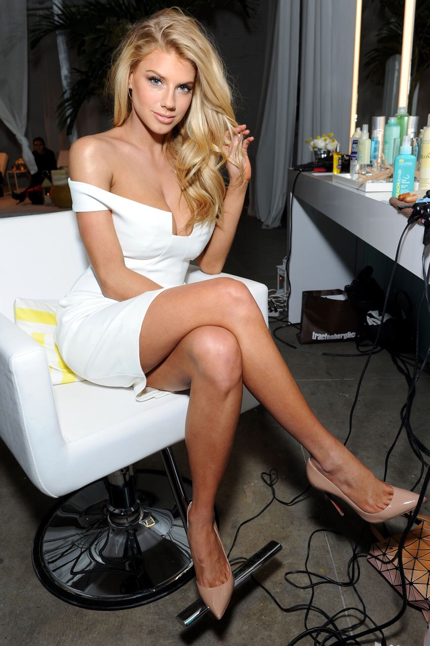 Charlotte McKinney - John Frieda Hair Care Beach Blonde Collection Party - 30