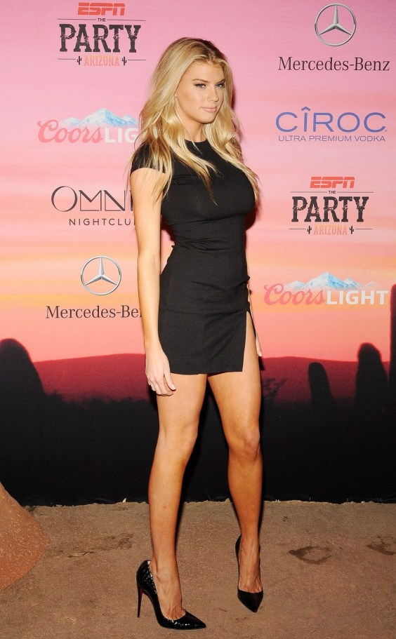Charlotte McKinney - 12th Annual Leather and Laces Super Bowl Party Night - 02