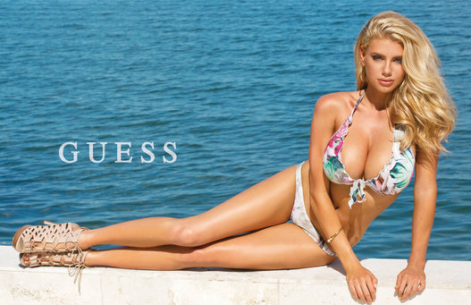 Charlotte McKinney - Megane Claire for Guess - 16