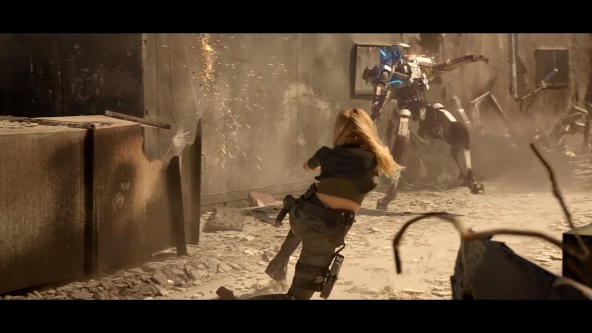 Charlotte McKinney on Carl's Jr. & Call of Duty Black Ops 3 Commercial - 02