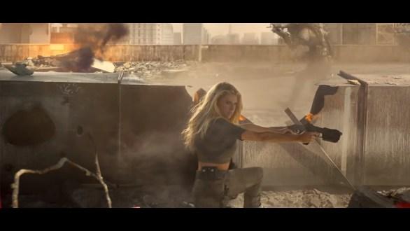 Charlotte McKinney on Carl's Jr. & Call of Duty Black Ops 3 Commercial - 04