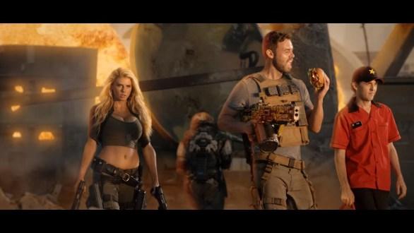 Charlotte McKinney on Carl's Jr. & Call of Duty Black Ops 3 Commercial - 10