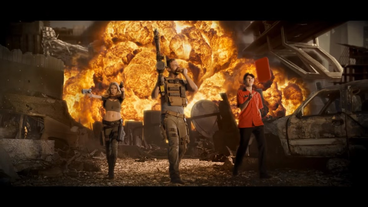 Charlotte McKinney on Carl's Jr. & Call of Duty Black Ops 3 Commercial - 11