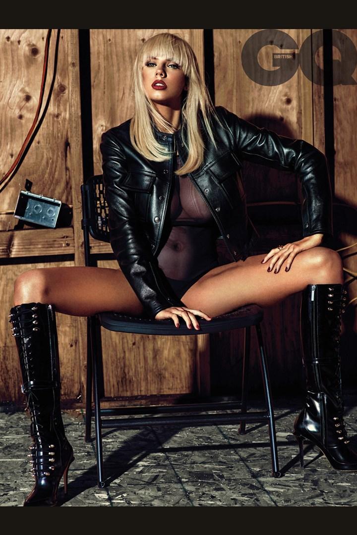 Charlotte McKinney by Hunger Gatti for British GQ magazine - 01