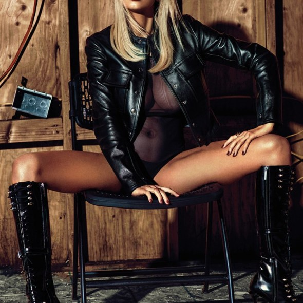 Charlotte McKinney by Hunger Gatti for British GQ magazine - 01