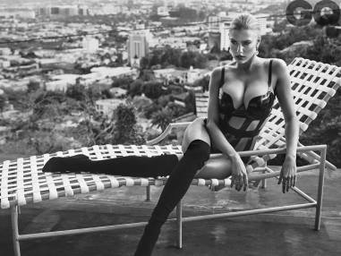 Charlotte McKinney by Hunger Gatti for British GQ magazine - 04