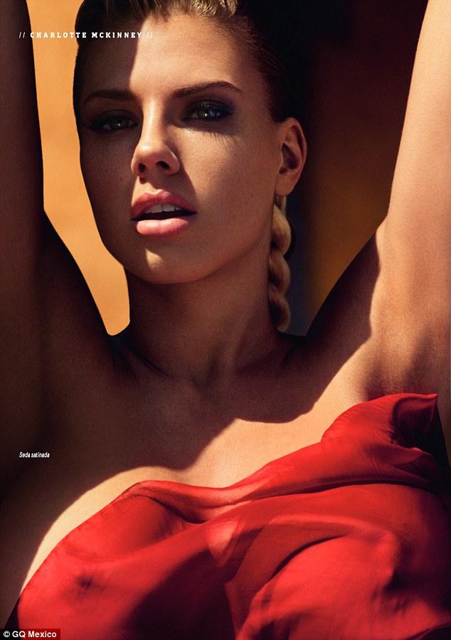 Charlotte McKinney - Cover GQ Mexico Magazine February 2016 - 05