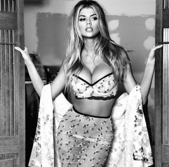 Charlotte McKinney for Guess Fall Line shot by Tatiana Gigi - 03