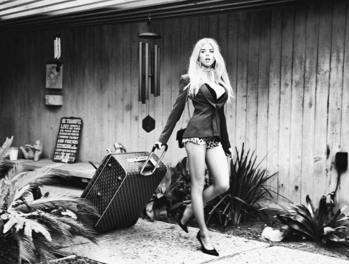 Charlotte McKinney for Guess Fall Line shot by Tatiana Gigi - 10