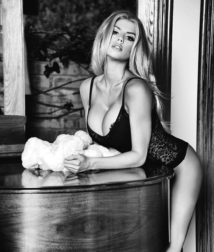 Charlotte McKinney for Guess Fall Line shot by Tatiana Gigi - 12