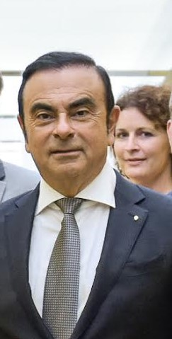 Anne-Charlotte Laugier et Ghosn