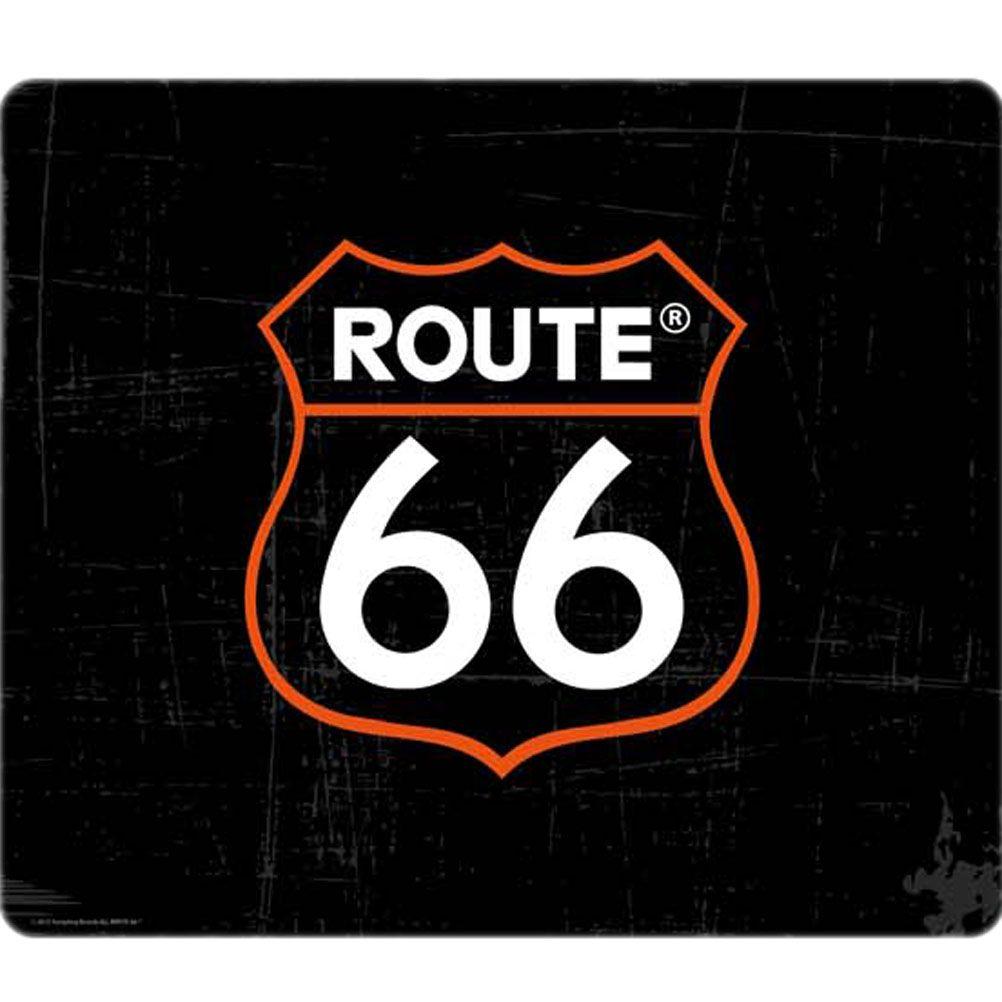 Tapis De Souris Route 66 Logo Noir