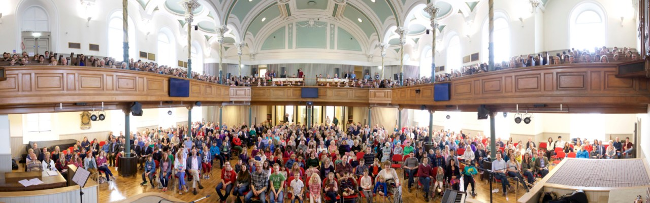 Our first Sunday in Shandwick Place
