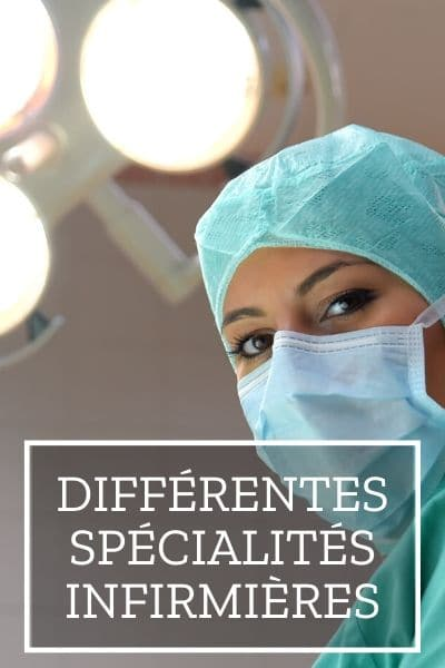 spécialités infirmière