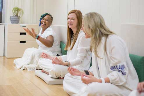 laughter yoga class