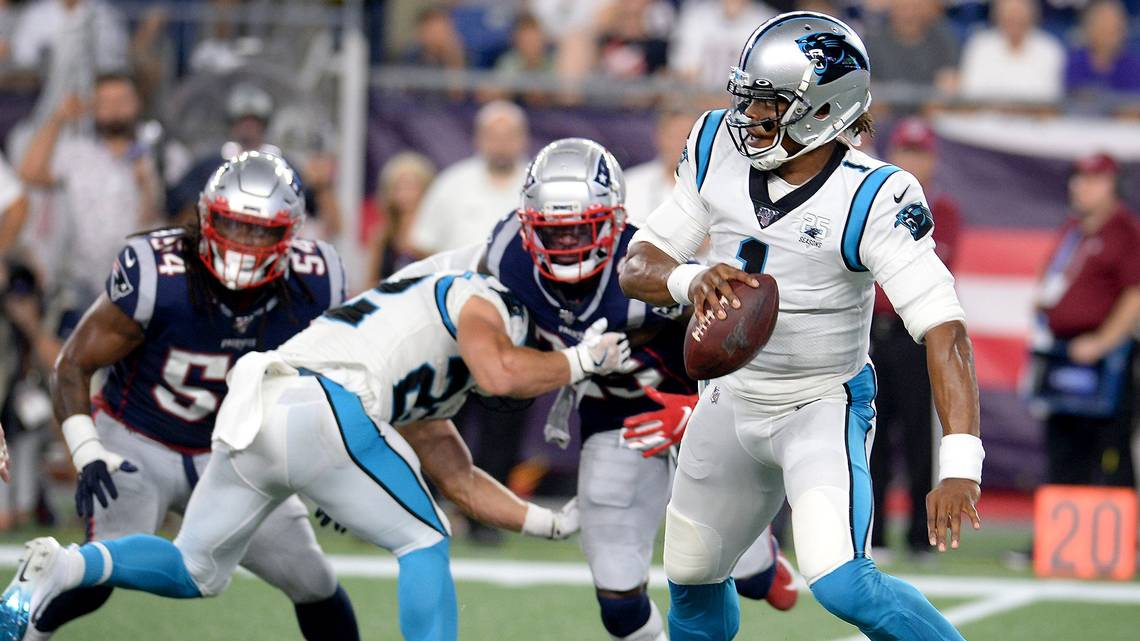 Analysis: Before injury, Cam Newton looked solid - but Panthers need to help him