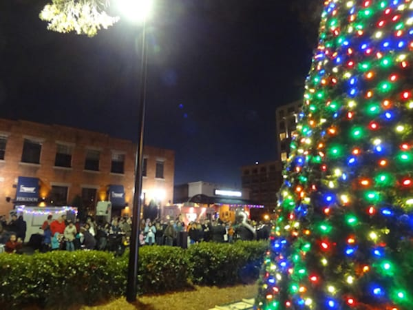 south end tree lighting