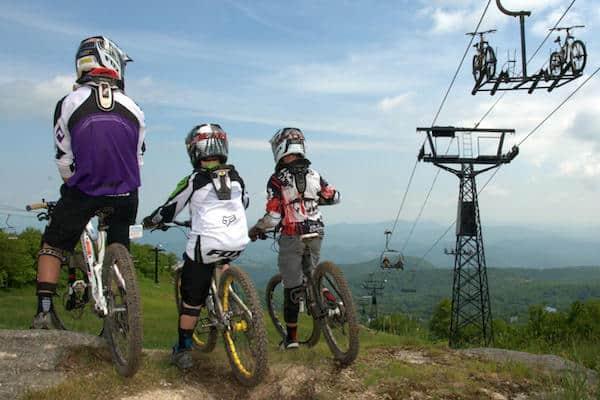 downhill mountain biking beech mountain