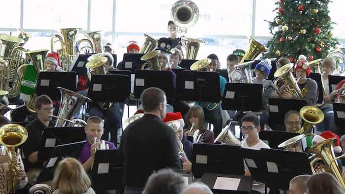 Charlotte Tuba Christmas 2020 Free: Tuba (and Trombone) Christmas concert (low brass players