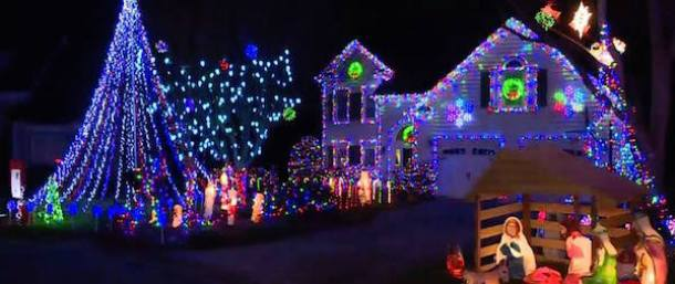 Harbin Family Christmas Lights