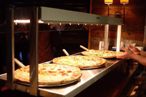 Free pizzas a The Pizza Peel Cotswold's anniversary party