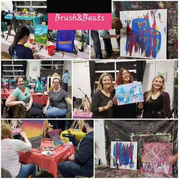 Brush 'n' Beats with Charlotte Art League - Charlotte On The Cheap