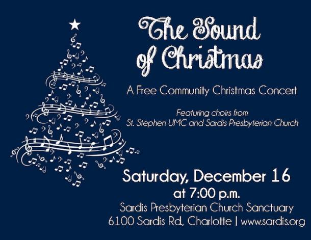 Christmas Concert.Sound Of Christmas Free Christmas Concert At Sardis