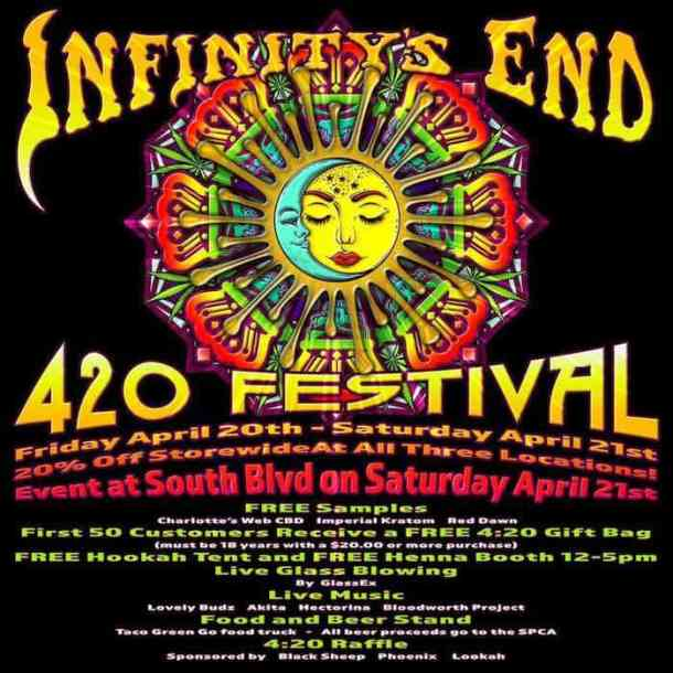 420 Fest at Infinity's End (South Boulevard) - Charlotte On